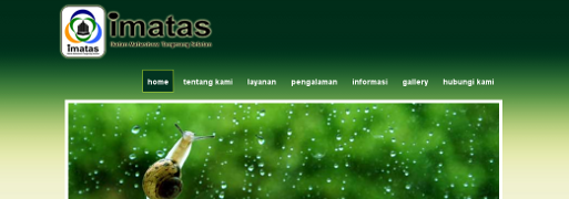 Pembangunan website IMATAS