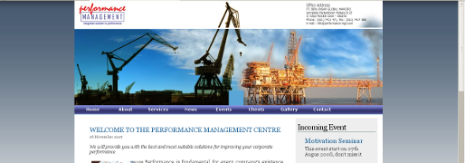 Pembangunan website Performance Management